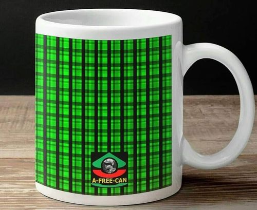 """MADRAS VITA"" by A-FREE-CAN.COM - (Mug Madras)"