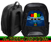 "Grand Sac à Dos: ""KAM BOGOLAN ELECTRIC SKY VJR v1"" by A-FREE-CAN.COM"