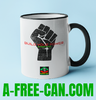 """BUILD YOUR POWER A-FREE-CAN"" by A-FREE-CAN.COM - (Mug)"