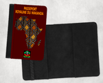 "Protège-Passeport Bogolan: ""ROYAUME DU WAKANDA v1"" by A-FREE-CAN"