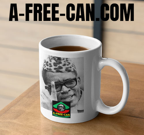 """MOBUTU"" by A-FREE-CAN.COM - (Mug Leader)"