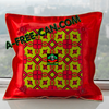 "DÉCO MAISON, Coussin Wax: ""BILIMA"" by A-FREE-CAN.COM"