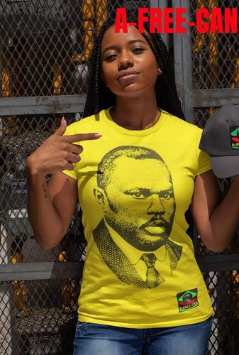 """MARCUS GARVEY v3"" by A-FREE-CAN.COM - (T-Shirt Femmes)"