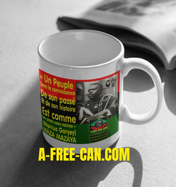"""MARCUS GARVEY SANKOFA"" by A-FREE-CAN.COM - (Mug)"