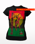 """BLACK LOVE MATTER rbg V1"" by A-FREE-CAN.COM - (T-SHIRT pour Femmes)"