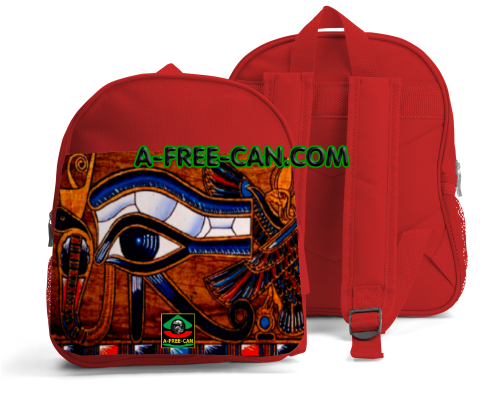"""OUDJAT EYE vK1"" by A-FREE-CAN.COM - (Sac à Dos Enfants)"