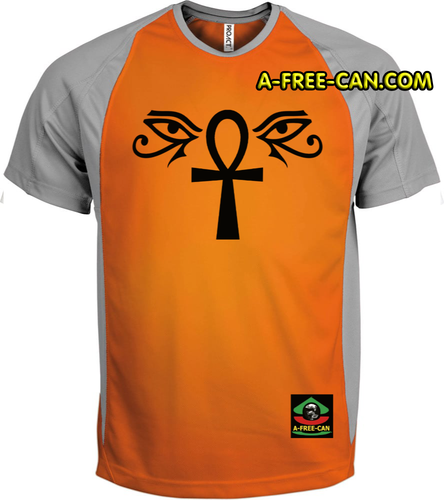 """OUDJAT EYES ANKH"" by A-FREE-CAN.COM - (T-SHIRT pour Hommes)"