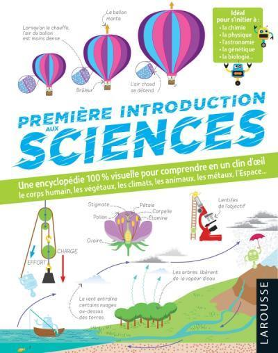 """PREMIERE INTRODUCTION AUX SCIENCES"" - (Livre, sciences)"