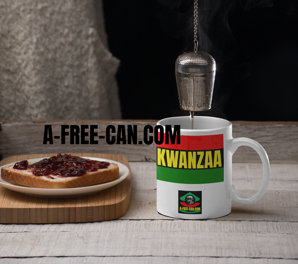 """KWANZAA Couleurs Panafricaines"" by A-FREE-CAN.COM - (Mug)"
