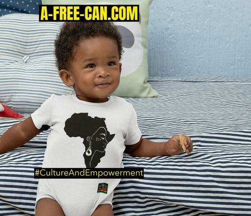 "BODY pour Bébé: ""MAMA AFRIKA v1"" by A-FREE-CAN.COM"