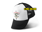 """UNIVERSITÉ KAMITE NGUZO SABA 47"" by A-FREE-CAN.COM - (Casquette)"