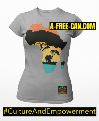 """NZAMBA ELEPHANT"" by A-FREE-CAN.COM - (T-SHIRT pour Femmes)"