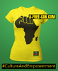 """AFRICA POWER"" by A-FREE-CAN.COM - (T-SHIRT pour Femmes)"