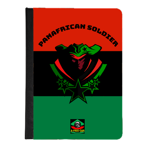 """PANAFRICAN SOLDIER Black Stars v1 rbg"" by A-FREE-CAN - (Housse Universelle pour Tablettes de 7 & 8)"
