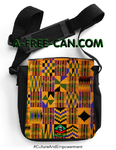"""KENTE 1"" by A-FREE-CAN - (Sacoche Simba)"