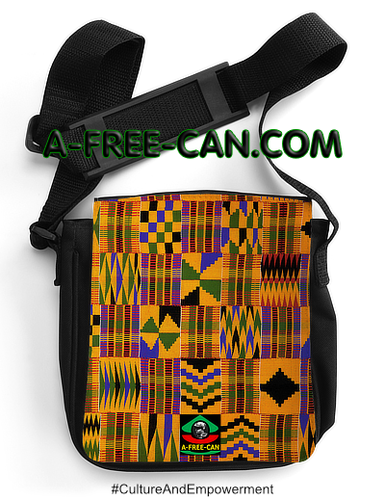 """KENTE 1"" by A-FREE-CAN.COM - (Sacoche Simba)"