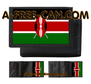 """KENYA"" by A-FREE-CAN.COM - (Portefeuilles pfscn)"