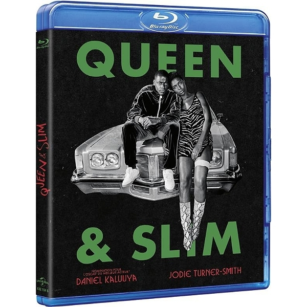 """QUEEN & SLIM"" film avec Daniel KALUUYA, Jodie Turner-Smith, Bokeem Woodbine - (Blu-ray, Film)"