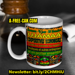 """Kwanzaa UJAMAA Coopératives Économiques"" by A-FREE-CAN - (Mug)"